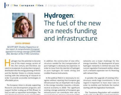 Hydrogen: The fuel of the new era needs funding and infrastructure